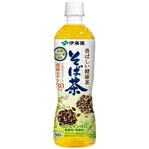 伊藤園 香ばしい健康茶そば茶 500ml×24本