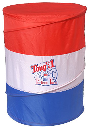Tough 1 Tough-1 Perfect Turn Collapsible Barrel, Red/White/Blue (Collapsible Rain Barrel compare prices)