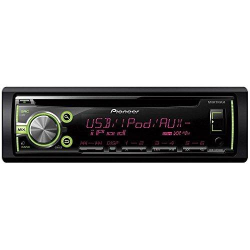 DEH-X3700UI CD-Tuner Autoradio für Navigation/Freisprecheinrichtung (RDS, USB, Aux, Eingang, unterstützt MIXTRAX EZ, Apple iPod/iPhone Direktsteuerung) schwarz