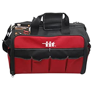 IIT 91130 18-Inch Soft Side Nylon Tool Bag with Plastic Organizer Tray