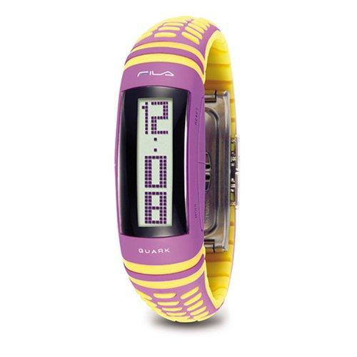 Fila FA0454-11 - Reloj digital de cuarzo para mujer, correa de plástico multicolor