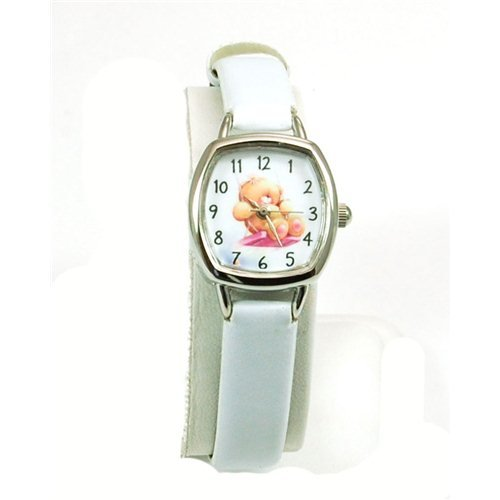 Forever Friends White Strap Watch  Photo Dial