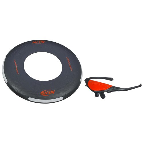 Nerf Firevision Sports Flyer Disc - 1