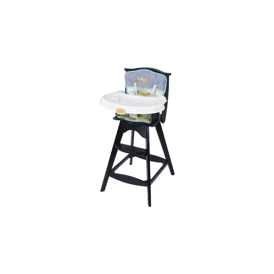 Summer Infant Carters Classic Comfort Reclining Wood High Chair