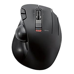 ELECOM マウス トラックボール ワイヤレス 6ボタン ブラック M-XT3DRBK