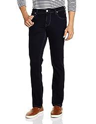 Lawman Men's Slim Fit Jeans (8907201981126_K-SPARK-2STR SLMFT BKBL_34W x 34L_Blue)