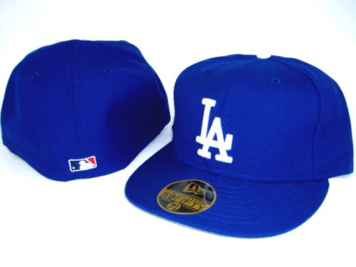 Buy Los Angeles Dodgers NEW ERA Fitted Baseball Hat -Blue