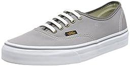 Vans Unisex Authentic (Surplus) Skate Shoe (4.5 D(M) US, Frost Gray/Pewter)