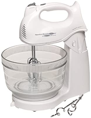 Hamilton Beach 64695 Power Deluxe Hand/Stand Mixer by Hamilton Beach