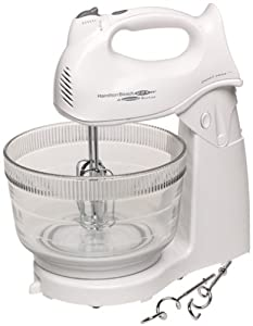 Hamilton Beach 64695 Power Deluxe Hand/Stand Mixer