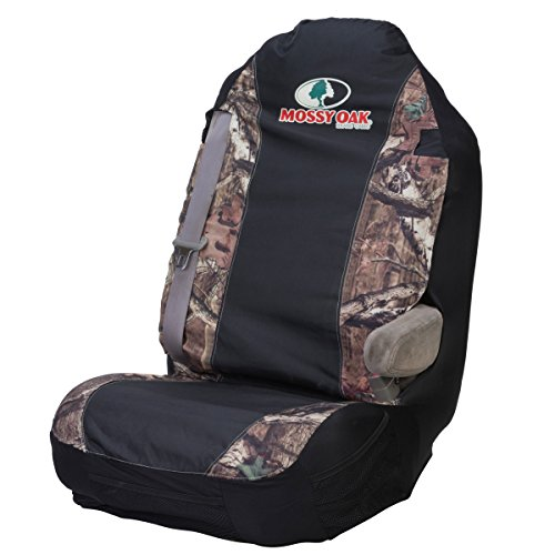 Mossy Oak Camo Universal Bucket Seat Cover (Mossy Oak Infinity Camo, Heavy-Duty Polyester Fabric, Sold Individually) (Seat Cover For F150 Truck compare prices)