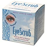 Eye Scrub Sterile Eye Makeup Remover & Eyelid Cleansing Pads 30 Ea (Pack of 3) - (Total of 90 Pads)