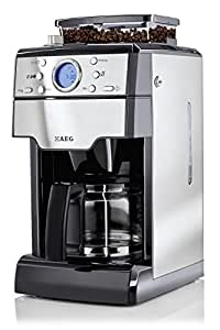 AEG 2074436 KAM 300 Machine à Café avec Moulin Intégré Noir 43 x 27 x 22 cm