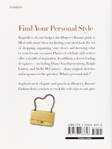 Libro Harper 39 S Bazaar Fashion Your Guide To Personal Style Di Lisa Armstrong