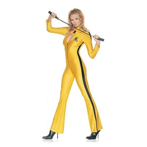 Sexy Halloween Costumes: Hot Babes in Kung Fu Master - Women's Sexy Martial Artist Costume Lingerie Outfit