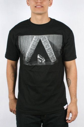 Diamond Supply - Mens Life And Times T-shirt in Black, Size: Large, Color: Black