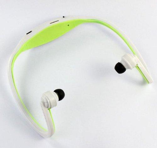 Best The Green Sport Wireless Earphones Headphones Music Mp3 Player Tf Card Fm Radio Headset