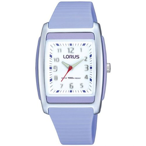 Lorus Ladies Analogue 100M Water Resistant Lilac Sports Strap Watch RRX87CX9