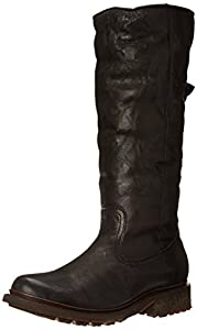 FRYE Women's Valerie Pull-On Snow Boot,Black,5.5 M US