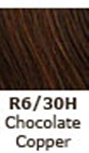 Jessica Simpson HairDo 15 Inch Clip-In Wavy Extension, R6/30H Chocolate Copper