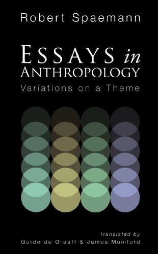 Essays in Anthropology: Variations on a Theme