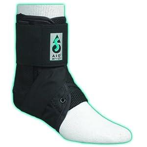 ASO EVO Ankle Stabilizer Brace (Small - Black) by MedSpec