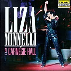 "Featured recording ""Liza Minnelli at Carnegie Hall"""