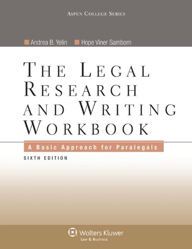 Legal Research, Analysis, and Writing [With CDROM] by William H ...