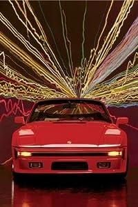 Porsche 911 Slopenose Convertible, 24x36 Poster Print