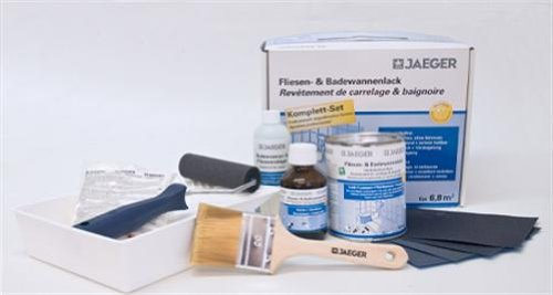 Jaeger Professional Bath  &  Tile Resurfacing Paint Kit (Small)
