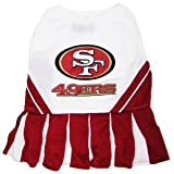 SAN FRANCISCO 49ERS ★ CHEERLEADER DOG DRESS COSTUME ★ ALL SIZES ★ LICENSED NFL (Small)