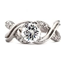 buy Kellie E: 2.26Ct Brilliant Cut Ice On Fire Cz Wedding Engagement Ring 925 Silver, 3077 Sz 7.5