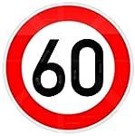 ORIGINAL Verkehrszeichen 60 Geburtsta...