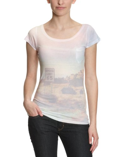 Wrangler San Printed Women's T-Shirt White Large