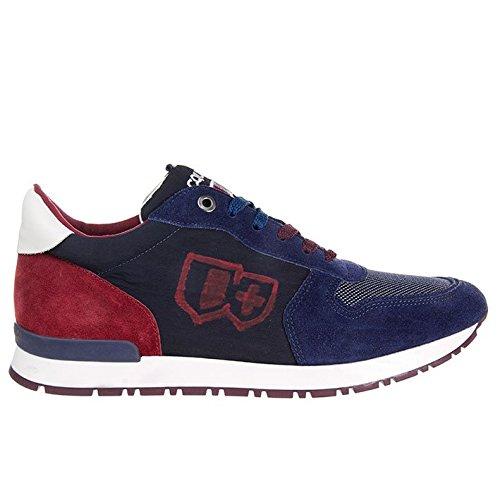 D'Acquasparta scarpa uomo Botticelli U700FB camoscio blu nr.41
