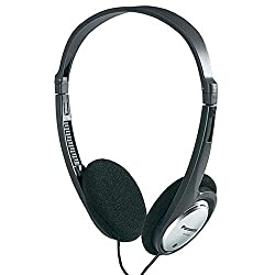 Panasonic RP HT030E-S Semi-Open Type On-Ear Headphone (Silver)