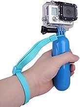 Andoer® Mango Flotante Multifuncional Accesorio de montaje a mano Flotador Amarillo para GoPro héroe 4/3/3+/2/1 cámara (Azul)