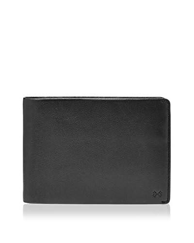 Skagen Brieftasche Joakim schwarz