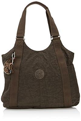 Kipling Women's Cicely Shoulder Bag, Expresso Brown, K13338