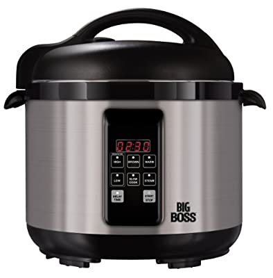 Big Boss 5 Quart Stainless Steel Electric Pressure Cooker by E.Mishan & Sons, Inc.