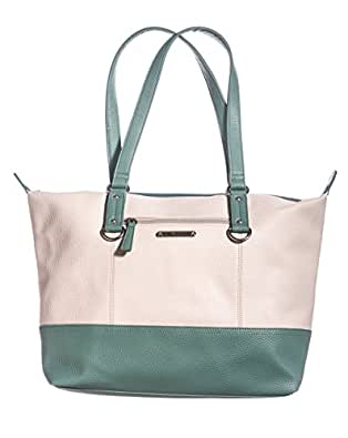 Talia Everyday Tote Bonice Bone Ice Blue Handbags