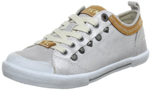 Yellow Cab Boogie Low Top Womens Silver Silber (Silver) Size: 4 (37 EU)