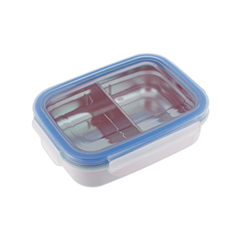 Innobaby Keepin' Smart Stainless Snackbox, Blue, 11 Oz.