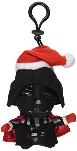 "Underground Toys Star Wars Mini Santa Darth Vader Talking 4"" Plush"