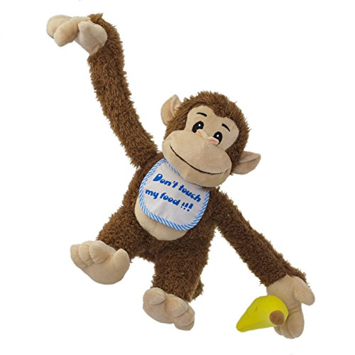 Funny Monkey - Interactive Plush... Don't take away his banana :-)