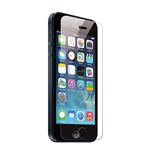 iPhone5 iphone5s iphone5c 強化ガラス 液晶保護フィルム ガラスフィルム 保護フィルム iphone 5 5s 5c フィルム 保護シート【日本製素材】薄さ0.3mm 60日間返金保証 超耐久 超薄型 アップル アイフォン5 iphone5 高透過率液晶保護フィルム【表面硬度9H・ラウンド処理・飛散防止処理 国産ガラス採用】/ Dolphin47 Edge