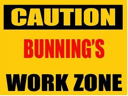 6-caution-bunning-work-zone-magnet-for-any-metal-surface