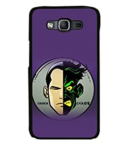 printtech Two Face Gotham Back Case Cover for Samsung Galaxy On5 Pro