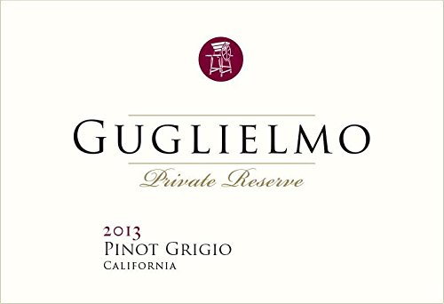 2013 Guglielmo Private Reserve Pinot Grigio, California 750 Ml