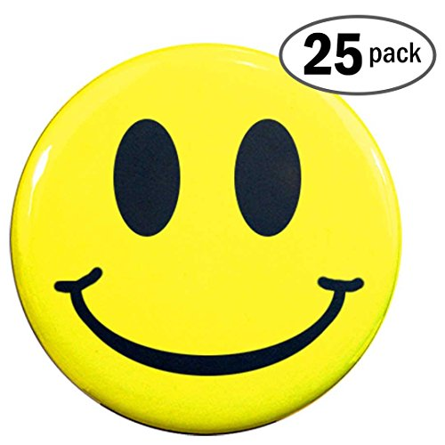 "Henry The Buttonsmith Smiley Face 1.25"" 25-Button Set"
